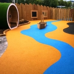 Playground Safety Flooring in Barrasford 2