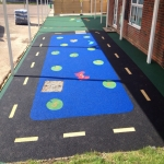 Playground Safety Flooring in Black Barn 12