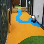 Synthetic Turf Playground in Bramley Head 11