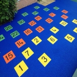 Playground Safety Flooring in Askerswell 7