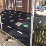 MUGA Court Installation 11