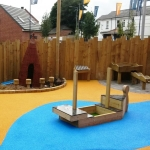 Playground Safety Flooring in Ty'r-felin-isaf 6