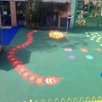 Synthetic Turf Playground in Achgarve 12