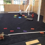 Playground Safety Flooring in Ty'r-felin-isaf 12