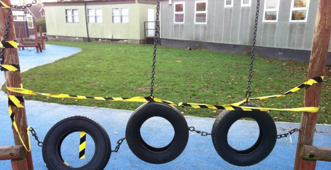 Cleaning Wetpour Play Surfaces in Aberdalgie