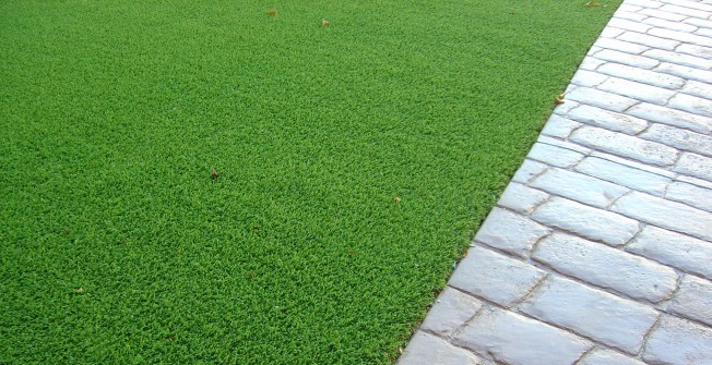 Artificial Leisure Grass in Brandy Wharf