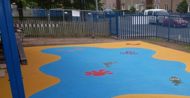 EPDM Wetpour Safety Surfacing in West Midlands