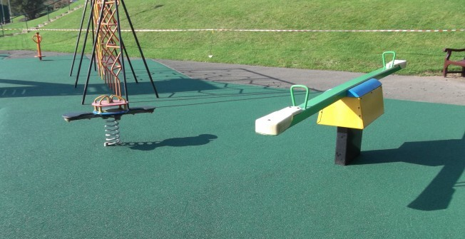 Repairing Children's Play Areas in Aberffrwd