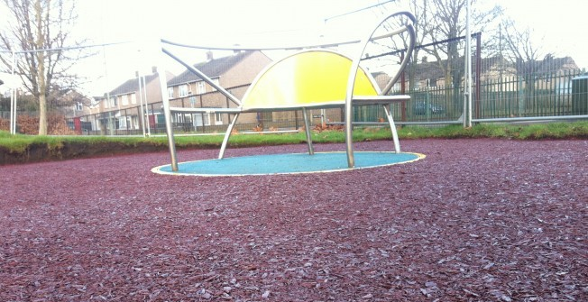 Bonded Rubber Mulch in Ards