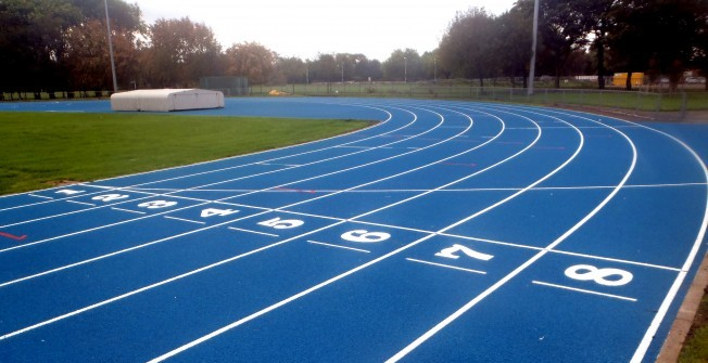 Athletics Track Installers in Swansea