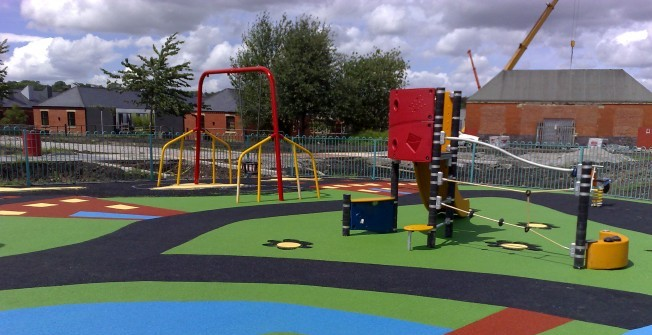 LEAP Activity Play Flooring in Farsley