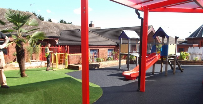 Rebuild Playground Surfaces in Cumbria