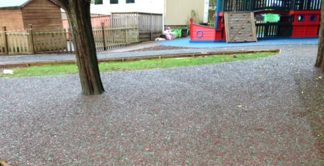 Rubber Mulch Safety Flooring in Ards