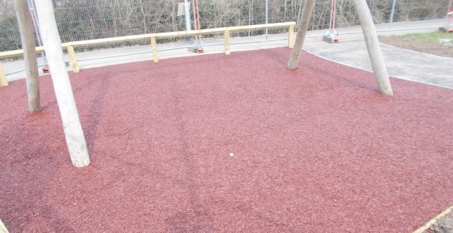 Impact Absorbing Plyground Surfacing in Barrasford