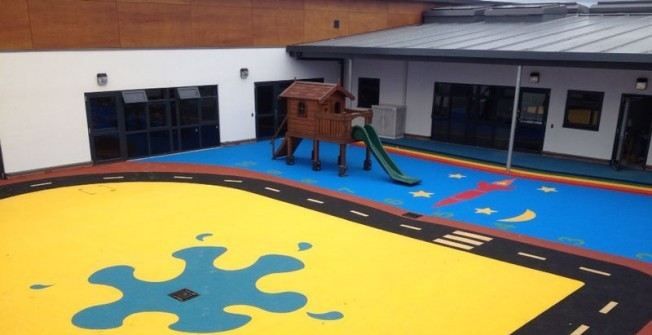 Play Area Safety Surfaces in Bincombe