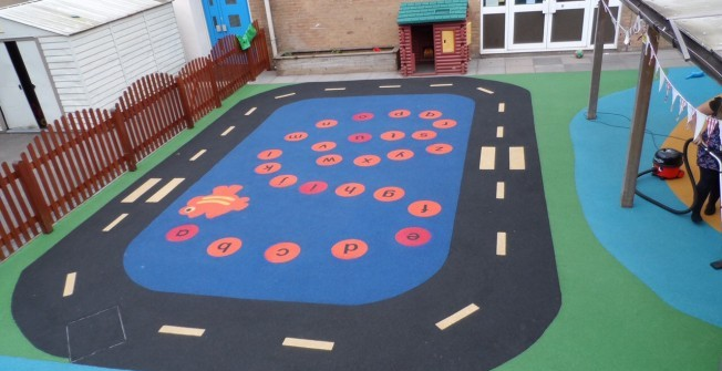 Early Years Play Surfacing in Acrefair