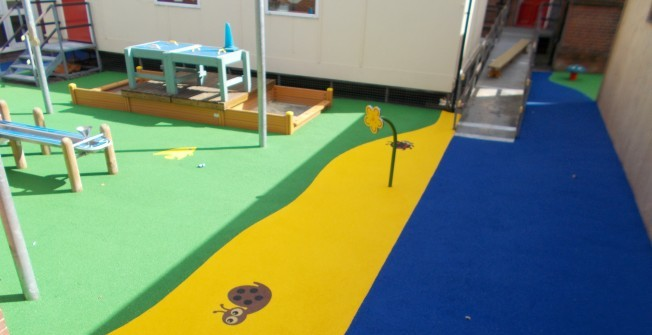 Wetpour Playground Installers in Abberley