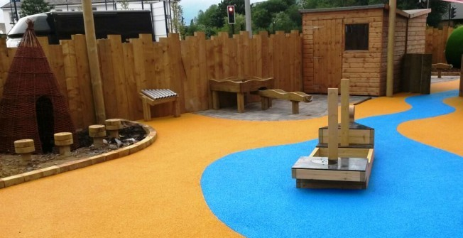 Children's Playground Installers in Aberchalder